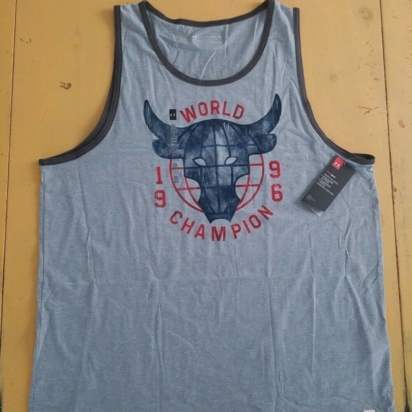 Under Armour Other - Under Armour Project Rock Tank Top WWE Rock